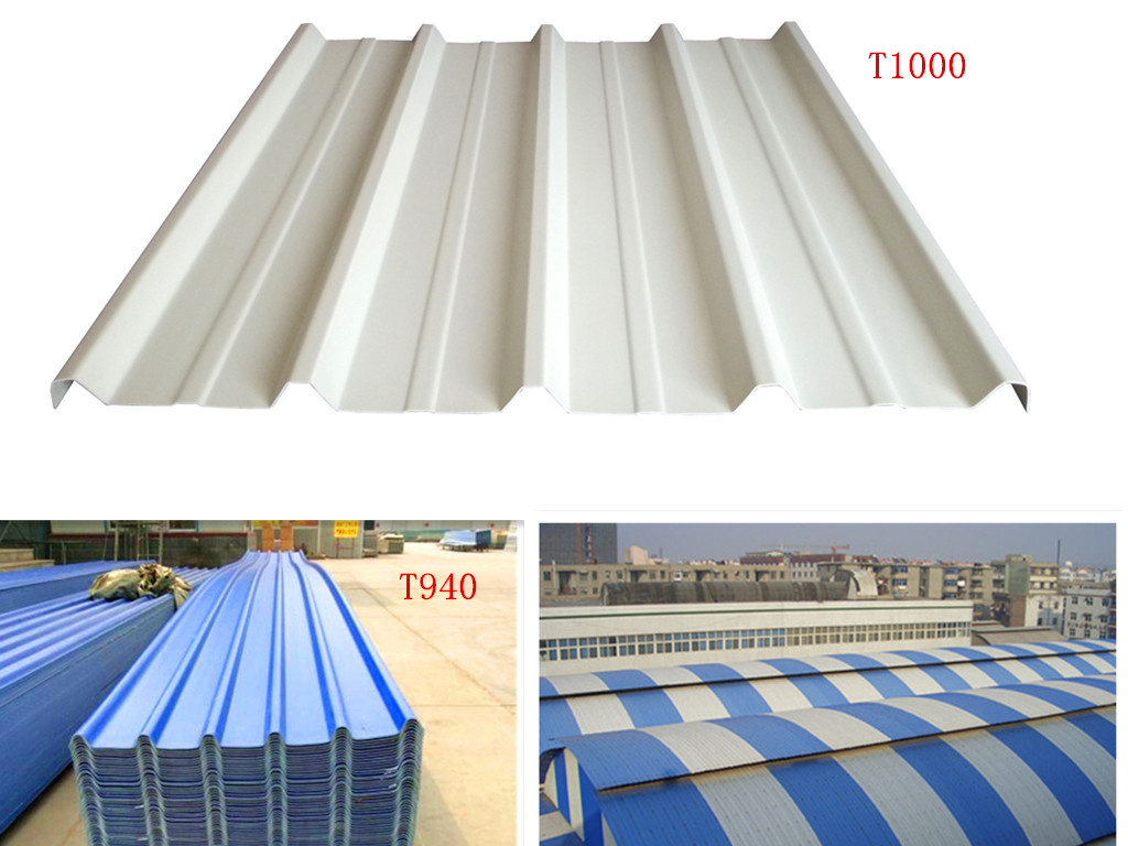 UPVC roof and wall sheets