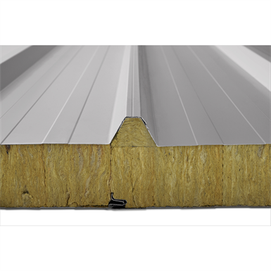 Mineral Wool Insulated Sandwich Roof Panels